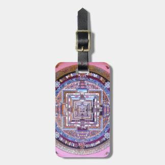 Mandala de Kalachakra Étiquettes Bagages
