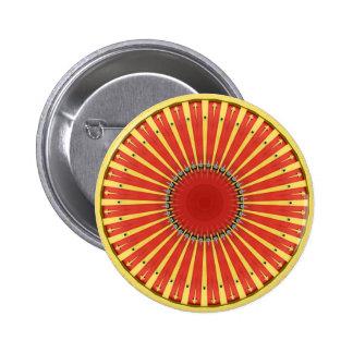 Mandala de kaléidoscope en Hongrie : Motif de Badges