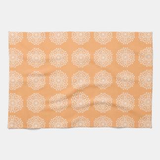 Mandala de melon serviette pour les mains