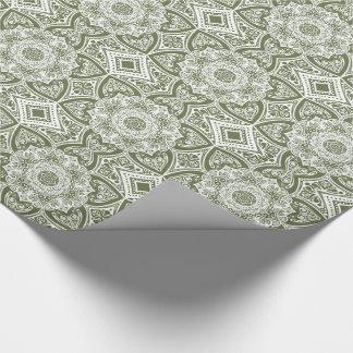 Mandala de mousse papier cadeau
