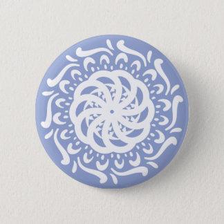 Mandala de myrtille badge