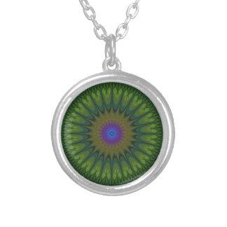 Mandala de nature collier