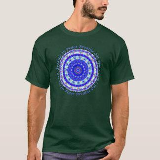 Mandala de paix t-shirt