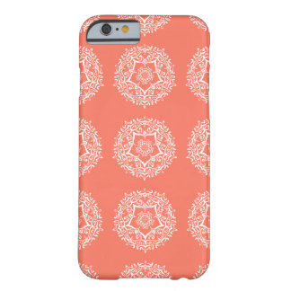 Mandala de papaye coque iPhone 6 barely there