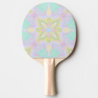 Mandala de pastel de papillon raquette tennis de table