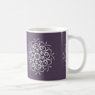 Mandala de prune mug