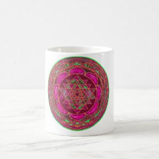 Mandala de Sri Lakshmi Yantra Mug