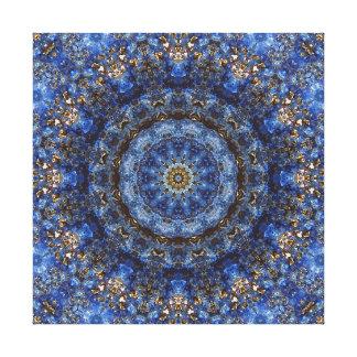 """Mandala """"de stratifié de lazulite de Lapis"""" Toiles"""