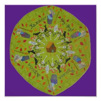Mandala de Yaga de baba Tirage Photo
