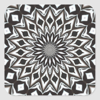 mandala noir et blanc autocollants stickers mandala noir. Black Bedroom Furniture Sets. Home Design Ideas