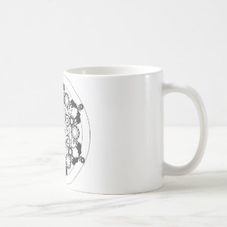 Mandala d'éléphant mug
