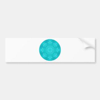 Mandala d'énergie - Aqua Autocollant Pour Voiture