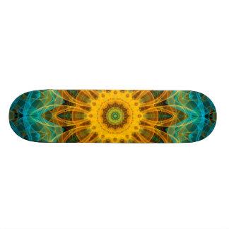 Mandala d'étoile d'océan skateboard 20,6 cm