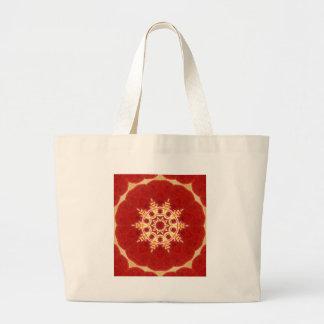 mandala d'orchidée de zen grand sac