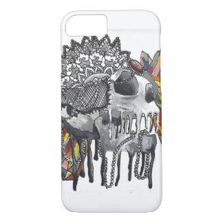 Mandala en cristal de crâne coque iPhone 7