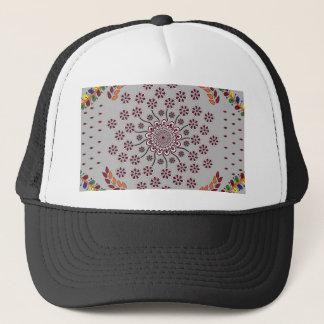 Mandala floral 3 casquette