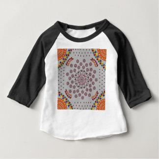 Mandala floral 3 t-shirt pour bébé
