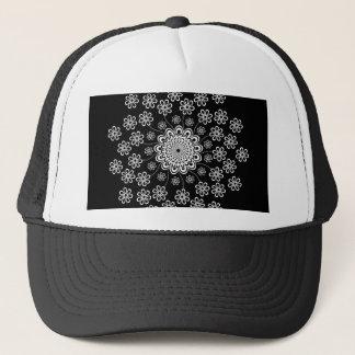 Mandala floral casquette