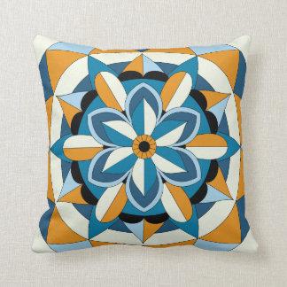 Mandala floral géométrique coloré 060517_2 coussin