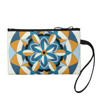 Mandala floral géométrique coloré 060517_2 porte-monnaie