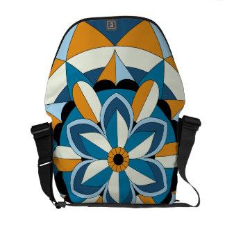 Mandala floral géométrique coloré 060517_2 sacoches