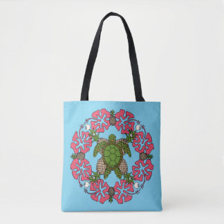 Mandala Fourre-tout de tortue de mer Sac