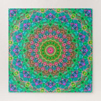 Mandala géométrique G18 de puzzle