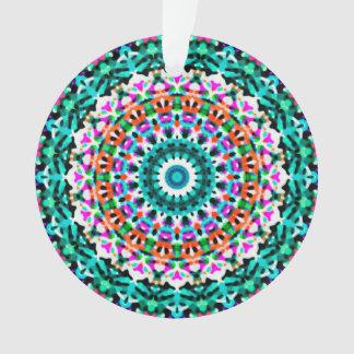 Mandala géométrique G405 d'ornement acrylique