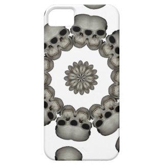 Mandala humain déplaisant de crâne étuis iPhone 5