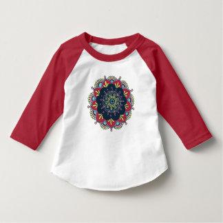 Mandala indien t-shirt
