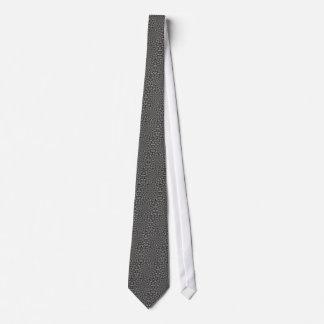Mandala monochrome cravates