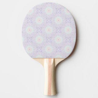 Mandala mou de pastel d'amour raquette de ping pong