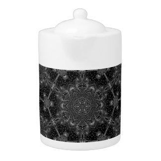 Mandala oriental de zen noir et blanc