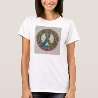 Mandala pour le cancer du sein métastatique t-shirt