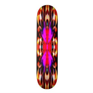 Mandala pourpre d'esprit du feu skateboards personnalisables