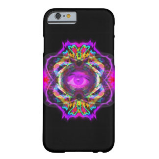 Mandala pourpre d'oeil coque barely there iPhone 6