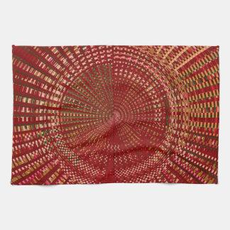 Mandala principal d'énergie d'armure serviettes éponge
