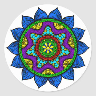 Mandala Sticker Rond