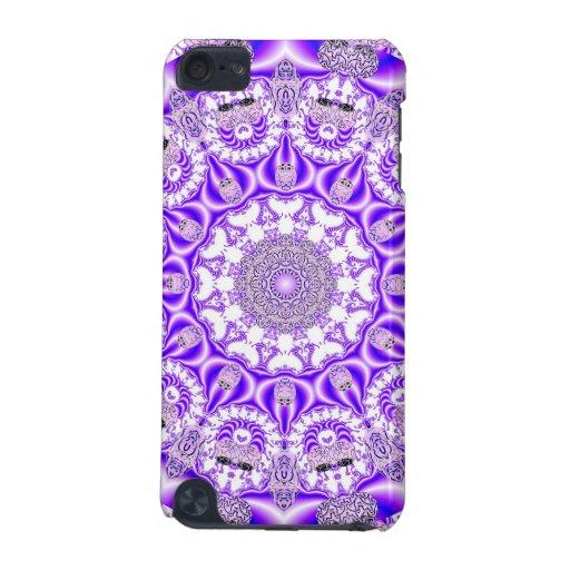 Mandala violet de dentelle, pourpre violet abstrai