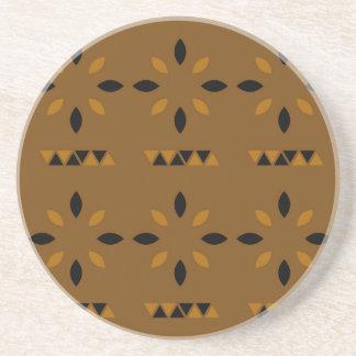 Mandalas arabes mystiques dessous de verre en grès