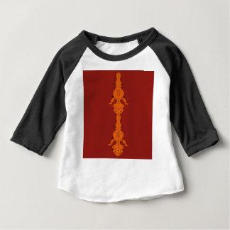 Mandalas de luxe sur le blanc t-shirt pour bébé