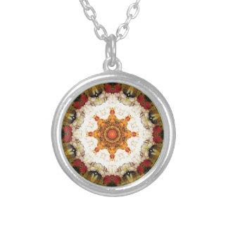 Mandalas du coeur de la liberté 16 cadeaux pendentif rond
