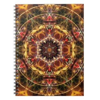 Mandalas du coeur de la liberté 17 cadeaux carnets à spirale