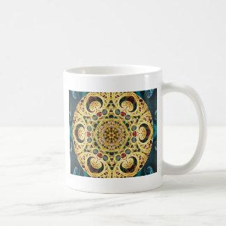 Mandalas du coeur de la liberté 22 cadeaux mug