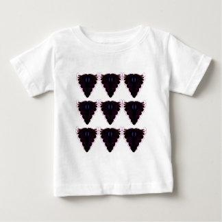 Mandalas noirs et blancs/sur le blanc t-shirt pour bébé