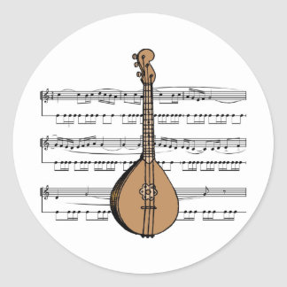 Mandolin Tees and Gifts Sticker