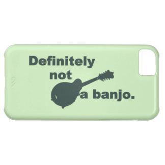 Mandoline -- Certainement pas un banjo Coque iPhone 5C