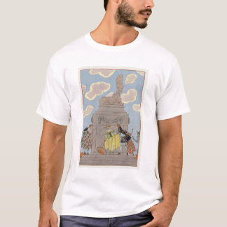 """Mandoline, illustration pour des """"fêtes Galantes"""" T-shirt"""