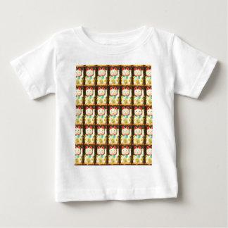 Maneki-neko, chat chanceux, Winkekatze T-shirt Pour Bébé