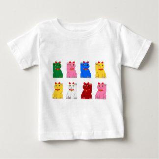 maneki neko t-shirt pour bébé
